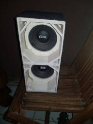 caixa de médio de 6 QVS  original  300w
