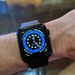 """Smartwatch Iwo W46 - """"Nova Serrana-MG"""""""
