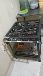 Mesa produção.fogao industrial alta pressão e forno industrial