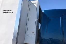 Título do anúncio: Ford Cargo 2429 2018 Truck Baú Refrigerado Entrada mais Parcelas com Contrato de Serviço.