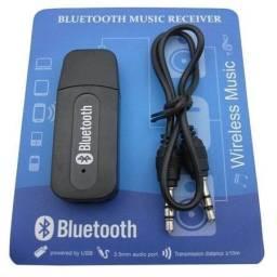 Receptor Adaptador Bluetooth Usb P2 Audio Stereo (adaptador bluetooth)