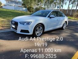 Audi A4 Prestige 2.0 TFSI 19/19 apenas 11.000 km