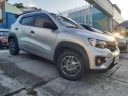 Renault Kwid 1.0 Life 2018 / Ar Cond. + Multimídia