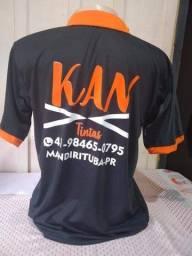 Camiseta para empresa