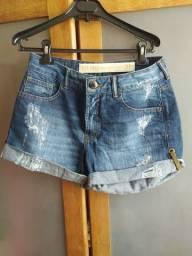 Título do anúncio: shorts jeans feminino Tam 38 100% algodão