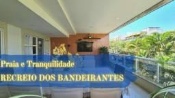 Título do anúncio: Apartamento de 109 metros quadrados no bairro Recreio dos Bandeirantes com 3 quartos
