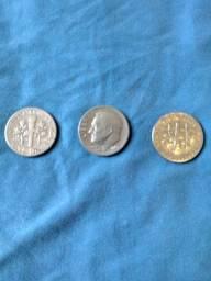 Moedas One Dime Dolar USA 1946/54