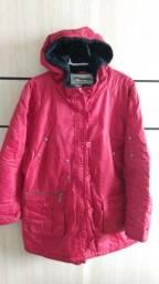 Título do anúncio: Jaqueta de nylon importada impermeável vermelha
