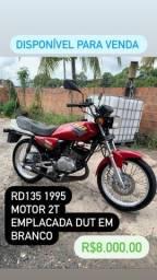 Título do anúncio: RD 135cc 2T