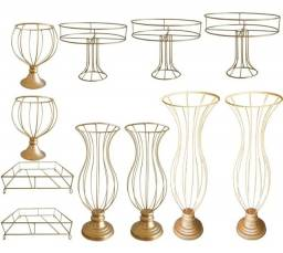 Título do anúncio: Kit de vasos e bandejas aramadas