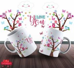 Canecas De Dia Dos Namorados Personalizada 325ml #. Gpdfn Bcqjw