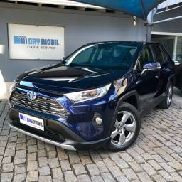 Título do anúncio: Toyota RAV 4 2.5 S Hybrid - 2019 - Azul Topázio