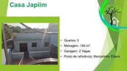 Título do anúncio: casa japiim - R$ 250 mil