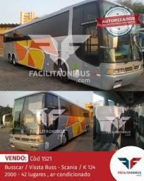 Título do anúncio: Busscar / Vissta Buss - Scania / K 124 - 2000