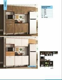 Cozinha compacta 4 peças - entregamos e montamos