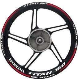 Título do anúncio: Kit Adesivo roda titan com frisos refletivos