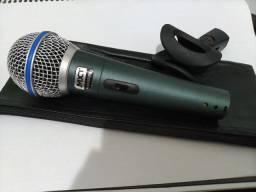 Microfone MXT Bt-58a NOVO com cachimbo e bolsa