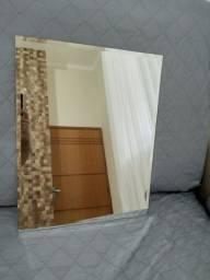 Espelho banheiro retangular 50 cm