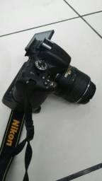 Câmera nikon D5100 Full Hd Completa