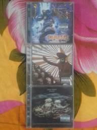 Lote cd's originais limp bizkit