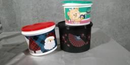 Kit de latas tupperware