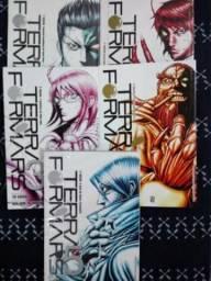 Mangá Terra for Mars volumes 1 ao 5
