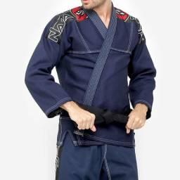 Kimono Jiu Jitsu A4 Naja / Azul Marinho / Nunca usado