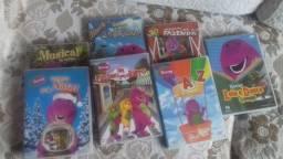 Barbada! Coleção 07 Dvds Barney e seus amigos originais - ótimo estado Cada R$ 10,00