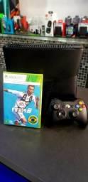 Xbox 360 + Fifa 19 + Controle