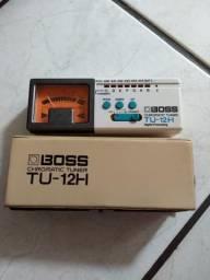 Afinador Boss tu 12h made in Japan para guitarra violão baixo