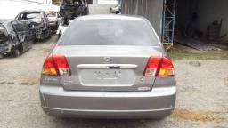 Sucata Honda Civic 1.7 Aut 2003 Peças Motor Cambio Bancos