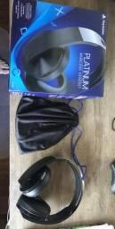 Headset Sony; Platinum 7.1 - Wireless - Seminovo