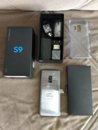 Vendo Samsung Galaxy S9 Cinza Novo sem uso