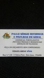 Paulo Sérgio reformas e pinturas em geral