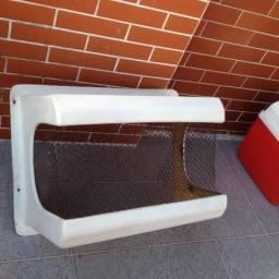 Caixa de proteção de fibra para ar condicionado (Janela)