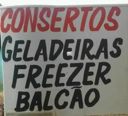Conserto geladeira freezer balcão geladeira com congelador furado
