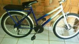 Bicicleta mini poti com comado e tudo mais aro vmax