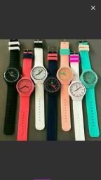 Relógio de silicone