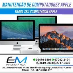 Assistencia Técnica Mac - Computadores Apple - Imac - Macbook e Outros Apple - Niterói
