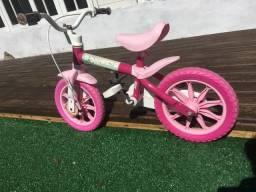 Bike infantil rosa