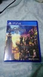 Kingdom Hearts 3 Ps4. vendo ou troco, jogo recém lançado