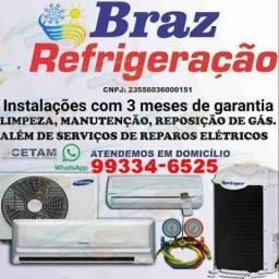 Limpeza e instalação de splits 99334-6525