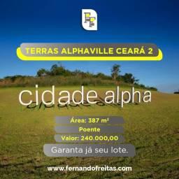 Terras Alphaville Ceará 2, Lote Poente, 387m2, Pronto Pra Construir