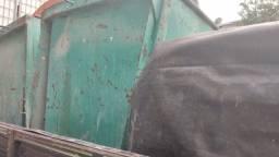 Caçamba de lixo  reforçado 1000 l usado