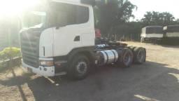 Caminhão Scania G 420 2009 6x4 único dono