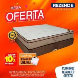 Promoçao Cama Box + Colchao Pro-Vida Ortobom Queen Size 158x198 A Pronta Entrega