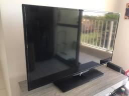 Televisão AOC 40' LED com defeito