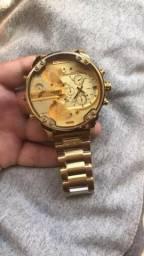 Relógio Diesel Dz 7333 Dourado
