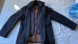 Casaco jaqueta masculina frio