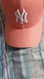 Boné NY New Era rosa !TOP! Itapetininga